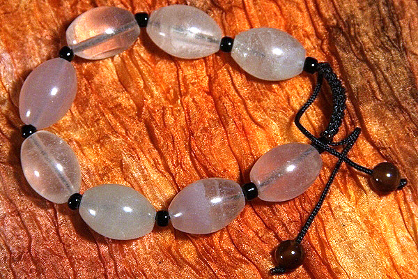 Tumbled Rock Quartz Bracelet
