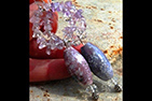 Amethyst and TIFFANY Stone Gemstone Necklace